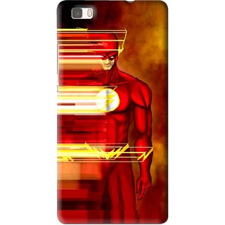 Snooky Printed Electric Man Mobile Back Cover For Huawei Ascend P8 Lite - Multi