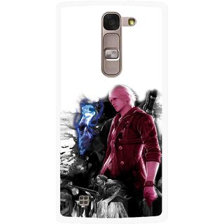 Snooky Printed Fighter Boy Mobile Back Cover For Lg Magna - Multi