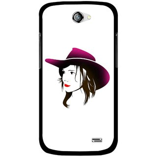 Snooky Printed Tom Boy Mobile Back Cover For Gionee Pioneer P2 - Multicolour