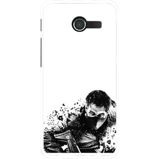 Snooky Printed Commando Mobile Back Cover For Asus Zenfone 4 - Multicolour