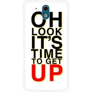 Snooky Printed Get Up Mobile Back Cover For HTC Desire 326G - Multicolour