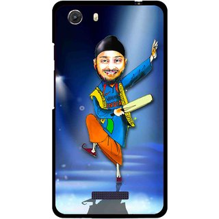 Snooky Printed Balle balle Mobile Back Cover For Micromax Canvas Unite 3 - Multi