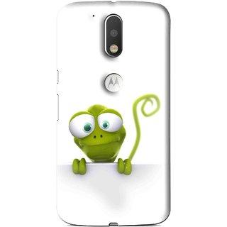 Snooky Printed Seeking Alien Mobile Back Cover For Moto G4 Plus - Multi