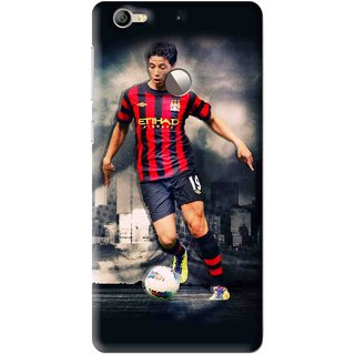 Snooky Printed Football Mania Mobile Back Cover For Letv Le 1S - Multi