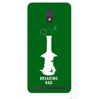 Snooky Printed Breaking Bad Mobile Back Cover For Lenovo A6600 - Multicolour