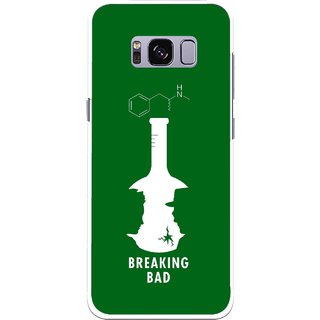 Snooky Printed Breaking Bad Mobile Back Cover For Samsung Galaxy S8 Plus - Multicolour