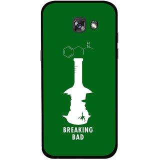 Snooky Printed Breaking Bad Mobile Back Cover For Samsung Galaxy A5 (2017) - Multicolour