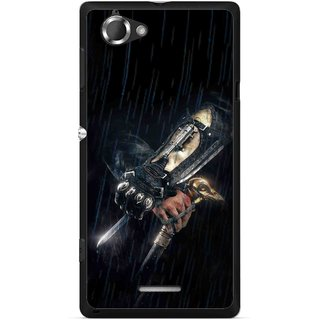 Snooky Printed The Thor Mobile Back Cover For Sony Xperia L - Multicolour