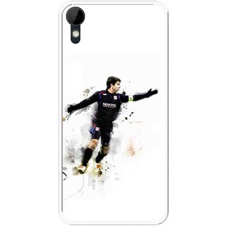 Snooky Printed Pass Me Mobile Back Cover For HTC Desire 825 - Multi