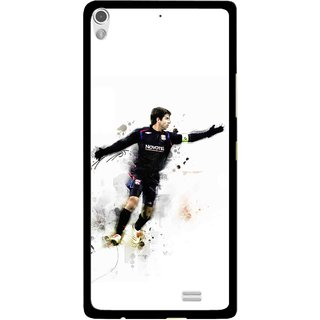 Snooky Printed Pass Me Mobile Back Cover For Gionee Elife S5.1 - Multi