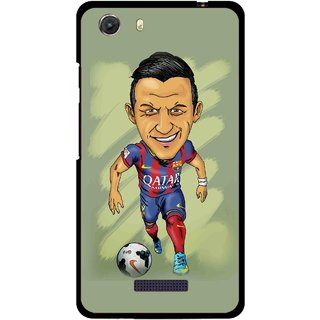 Snooky Printed Hara ke Dikha Mobile Back Cover For Micromax Canvas Unite 3 - Multi