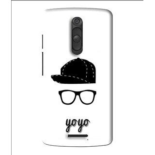 Snooky Printed Yo Yo Mobile Back Cover For Moto X3 - Multi