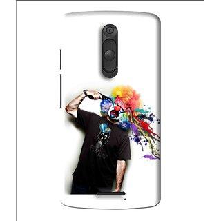 Snooky Printed Shooting Joker Mobile Back Cover For Moto X3 - Multi