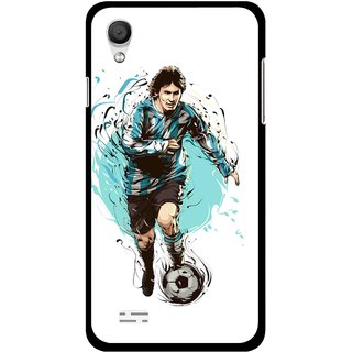 Snooky Printed Have To Win Mobile Back Cover For Vivo Y11 - Multi