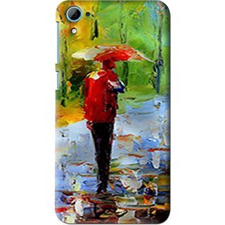 Snooky Printed Painting Mobile Back Cover For HTC Desire 826 - Multi