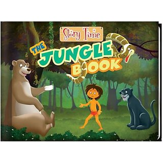Jungle Book Catch The Antics Of Mowgli  His Buddies In This Kids Storybook