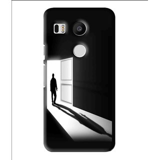 Snooky Printed Night Out Mobile Back Cover For Lg Google Nexus 5X - Multi