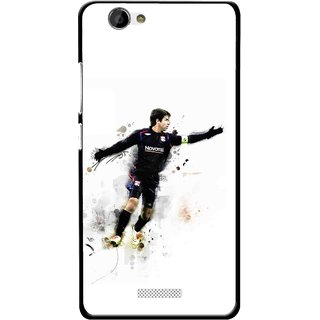 Snooky Printed Pass Me Mobile Back Cover For Gionee M2 - Multi