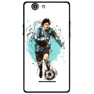 Snooky Printed Have To Win Mobile Back Cover For Xolo A500s - Multi