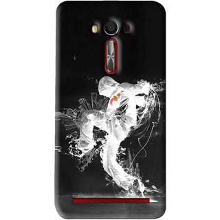 Snooky Printed Dance Mania Mobile Back Cover For Asus Zenfone Laser - Multi