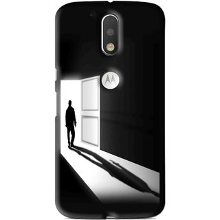 Snooky Printed Night Out Mobile Back Cover For Moto G4 Plus - Multi