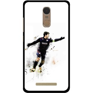 Snooky Printed Pass Me Mobile Back Cover For Gionee S6s - Multi