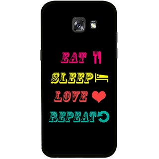 Snooky Printed LifeStyle Mobile Back Cover For Samsung Galaxy A5 (2017) - Multicolour