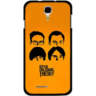 Snooky Printed Bigbang Mobile Back Cover For Micromax Canvas Juice A177 - Multicolour