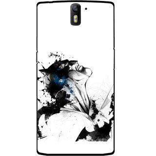 Snooky Printed Super Hero Mobile Back Cover For OnePlus One - Multicolour