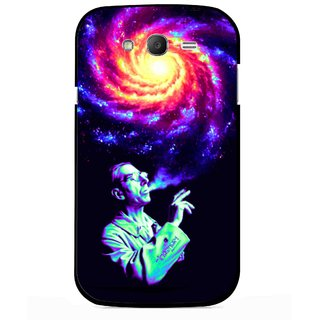 Snooky Printed Universe Mobile Back Cover For Samsung Galaxy Grand I9082 - Multicolour