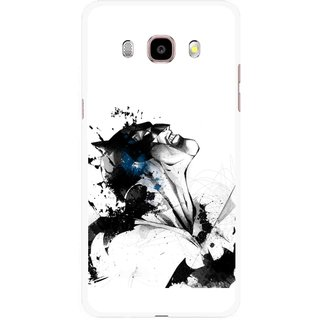 Snooky Printed Super Hero Mobile Back Cover For Samsung Galaxy J5 (2016) - Multicolour