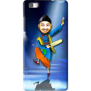 Snooky Printed Balle balle Mobile Back Cover For Huawei Ascend P8 Lite - Multi
