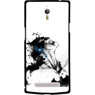 Snooky Printed Super Hero Mobile Back Cover For Oppo Find 7 - Multicolour