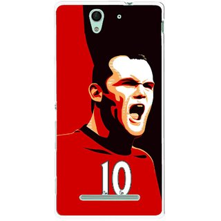Snooky Printed Sports ManShip Mobile Back Cover For Sony Xperia C3 - Multicolour