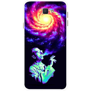 Snooky Printed Universe Mobile Back Cover For Samsung Galaxy J7 Prime - Multicolour