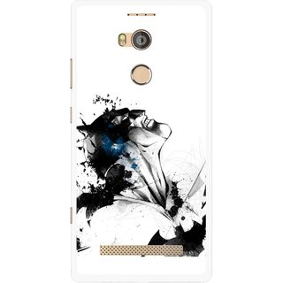 Snooky Printed Super Hero Mobile Back Cover For Gionee Elife E8 - Multicolour