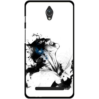 Snooky Printed Super Hero Mobile Back Cover For Asus Zenfone C - Multicolour