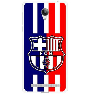 Snooky Printed Football Club Mobile Back Cover For Vivo Y28 - Multicolour