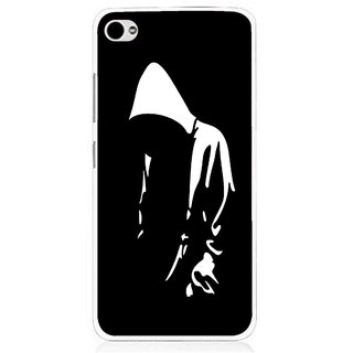 Snooky Printed Thinking Man Mobile Back Cover For Lenovo s90 - Multi