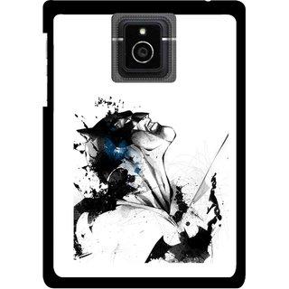 Snooky Printed Super Hero Mobile Back Cover For Blackberry Passport - Multicolour