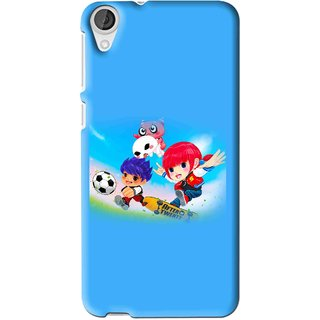 Snooky Printed Childhood Mobile Back Cover For HTC Desire 626 - Multi