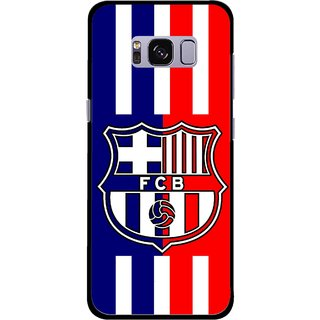 Snooky Printed Football Club Mobile Back Cover For Samsung Galaxy S8 Plus - Multicolour
