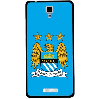 Snooky Printed Eagle Logo Mobile Back Cover For Gionee Pioneer P4 - Multicolour