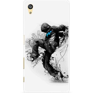 Snooky Printed Enjoying Life Mobile Back Cover For Sony Xperia Z5 - Multi