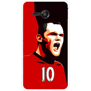 Snooky Printed Sports ManShip Mobile Back Cover For Sony Xperia SP - Multicolour