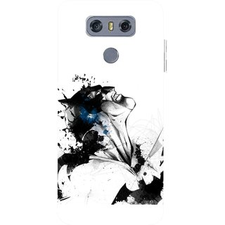Snooky Printed Super Hero Mobile Back Cover For LG G6 - Multicolour