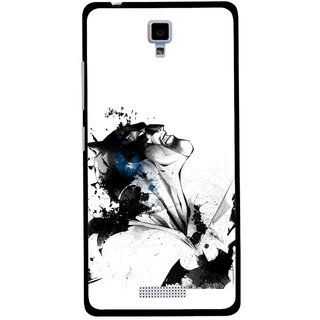 Snooky Printed Super Hero Mobile Back Cover For Gionee Pioneer P4 - Multicolour
