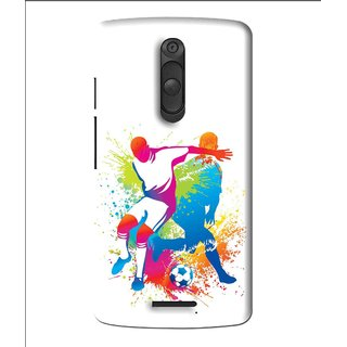 Snooky Printed Footbal Mania Mobile Back Cover For Moto X3 - Multi