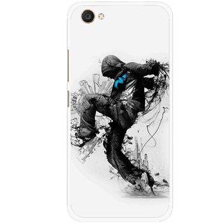 Snooky Printed Enjoying Life Mobile Back Cover For Vivo V5 - Multi