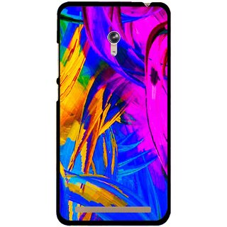 Snooky Printed Color Bushes Mobile Back Cover For Asus Zenfone 6 - Multicolour